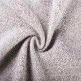 Tessuti Mixed delle lane delle lane e del mohair con la mano molle nel Gray