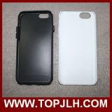 3D PC+ TPU 더하기 iPhone 6을%s 두 배 보호된 케이스 승화 전화 상자