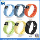 OEM/ODM impermeabilizan el reloj elegante Tw64 de la pulsera de Bluetooth