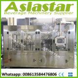 L'eau de seltz remplissante carbonatée par bouteille en plastique d'usine de boissons faisant la machine