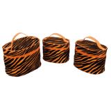 De nieuwe Kleurrijke Handtas van de Zak van de Druk Kosmetische Dame Bag