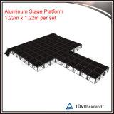 Plataforma ao ar livre portátil barata do estágio da madeira compensada do evento para a venda