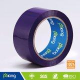 2017 Venta al por mayor de color púrpura BOPP cinta de embalaje