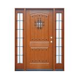 Hoja de la puerta de la puerta FRP de la Doble-Hoja del roble