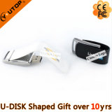 Hot Custom Logo Couro Gift USB Pendrive / Stick (YT-5116-01)