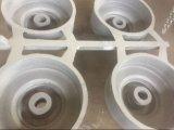 ランプの付属品のアルミニウムを砂型で作りなさい