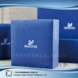 Rectángulo de empaquetado de papel de la cartulina de lujo de la joyería con la tapa (xc-1-074)