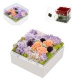 Rectángulo de acrílico durable de Rose de la caja de presentación del item