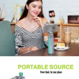 Altavoz portable portable sin hilos de Bluetooth con el banco del palillo / de la energía de Selfie