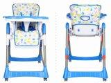 유럽 기준 고품질 플라스틱 아기 어린이 식사용 의자 (CA-HC003)