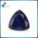 ياقوت [66مّ] تريليون يقطع 34# زرقاء اصطناعيّة ياقوت حجر كريم خرزة لأنّ مجوهرات يجعل