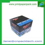 Коробка бумаги изготовленный на заказ светлой косметической упаковки ювелирных изделий дух складывая упаковывая