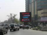 Menor consumo de energia P16 tela colorida ao ar livre display comercial