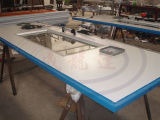 China-Auto-Holzbearbeitung-Lack-Spray-Stand des Cer-Wld6200/Farbanstrich-Raum mit Filter