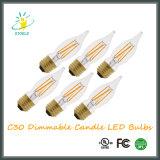 C30 Stoele люстра лампа в форме свечи 6 Вт строка светодиодная лампа освещения