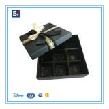 Rectángulo de empaquetado de papel del caramelo/del chocolate/del regalo/del azúcar con la pieza inserta