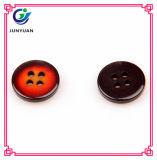 Кнопка кнопки шинели кнопки 4holes одежды имитационная деревянная