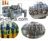 Jugo de botellas de PET 3en1 máquina de rellenar con esterilizador