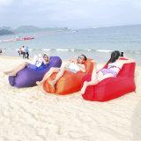 Im Freien faules aufblasbares Nichtstuer-Beutel-Hängematten-Luft-Sofa/Stuhl/Bett