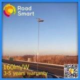 illuminazione solare tutta compresa della strada principale della strada della via 50W con il regolatore astuto