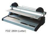 Venta al por mayor Popular Velo Strips carpeta Fdz-280h (Carta) Manual 4-Pin Velo Binder