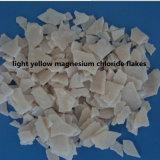 De gemeenschappelijke Vlokken van het Chloride van het Magnesium/de Gele Vlokken van het Chloride van het Magnesium