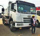 China FAW 6X4 Caminhão Basculante e 15-20 m3 de caminhão de caixa basculante