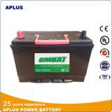 Bateria automotriz 95D3d1r Nx120-7 12V80ah do Mf do armazenamento acidificado ao chumbo recarregável