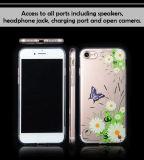 iPhone 6 케이스/iPhone7를 위한 2017년 기우는 제품 투명한 TPU PC 0.3mm 주문 인쇄 상자/iPhone 7 더하기 케이스