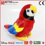 Macaw macio do animal enchido do brinquedo do pássaro do luxuoso para miúdos/crianças
