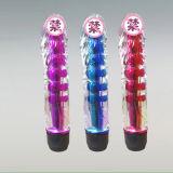 Vibrateur en cristal femelle de G-Endroit de rouleau-masseur de vente de jouet adulte chaud de sexe