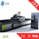 Maquinaria profissional de aço de bronze da estaca do laser da fibra do metal do grande formato Jsx3015