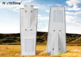 25watt 높은 리튬 건전지 수용량 한세트 LED 태양 가로등