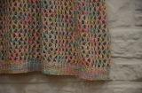 Vestito lavorato a maglia legame dolce dal manicotto di Short del V-Collo delle ragazze