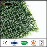 Rete fissa artificiale del foglio dell'erba del giardino di verde esterno della decorazione