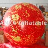 Reticolo gonfiabile di Sun del globo dell'aerostato del pianeta