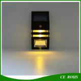 パスのためのPIRの動きセンサーとの屋外のゲートの壁ランプ2LEDの庭ライト太陽LED照明