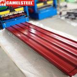 Из стали с полимерным покрытием для катушки Corrugating листа крыши