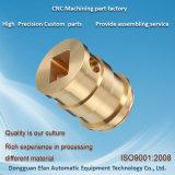 Gute Qualitätsmessing CNC, der Selbstnähmaschine-Ersatzteile maschinell bearbeitet