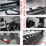1440dpi 비닐 스티커 Eco 용해력이 있는 잉크젯 프린터 (1 2 DX5/DX7와 더불어 1600-3200mm printing 크기, 헤드)