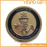 めっきされる金が付いている高品質の金属の空軍硬貨(YB-c-037)