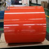 Bobine en acier galvanisée enduite d'une première couche de peinture PPGI de Ral 8017