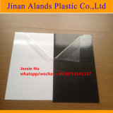 0,3Mm-2mm blanco y negro Hoja PVC autoadhesivo
