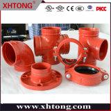 FM/ Aprobado por UL de montaje del tubo de hierro dúctil para equipos de extinción de incendios
