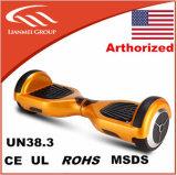 la mini planche à roulettes électrique de l'individu 6.5inch 2 de scooter intelligent d'équilibre avec UL2272 a délivré un certificat