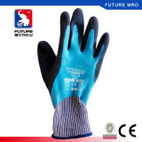 Перчатки пользы работника покрытия латекса руки Aqua доказательства воды защитные