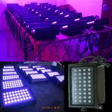 DMX512 LED Wand-Unterlegscheibe-wasserdichtes Licht RGB 36W