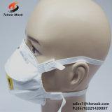 Mascherina di polvere protettiva non tessuta a gettare del fronte di anti dello smog della piega pp della Cina N95 3 dell'aria figura morbida dell'occhio