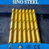 カラーによって塗られる電流を通された波形の鋼鉄屋根ふき版