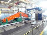 Boum et bras normaux d'extension de pièces de machines de construction d'excavatrice longs pour Caterpliiar KOMATSU Hitachi Kobelco Kato Hyundai Deawoo